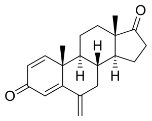 Aromasin (Exemestane) Structure