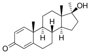 Methandrostenolone Structure